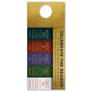 Celebrate The Season Advent DoorHangers