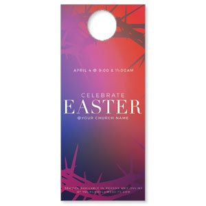 Celebrate Easter Crown DoorHangers
