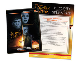 End of the Spear Movie License Packages