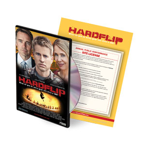 Hard Flip Movie License  DVD License
