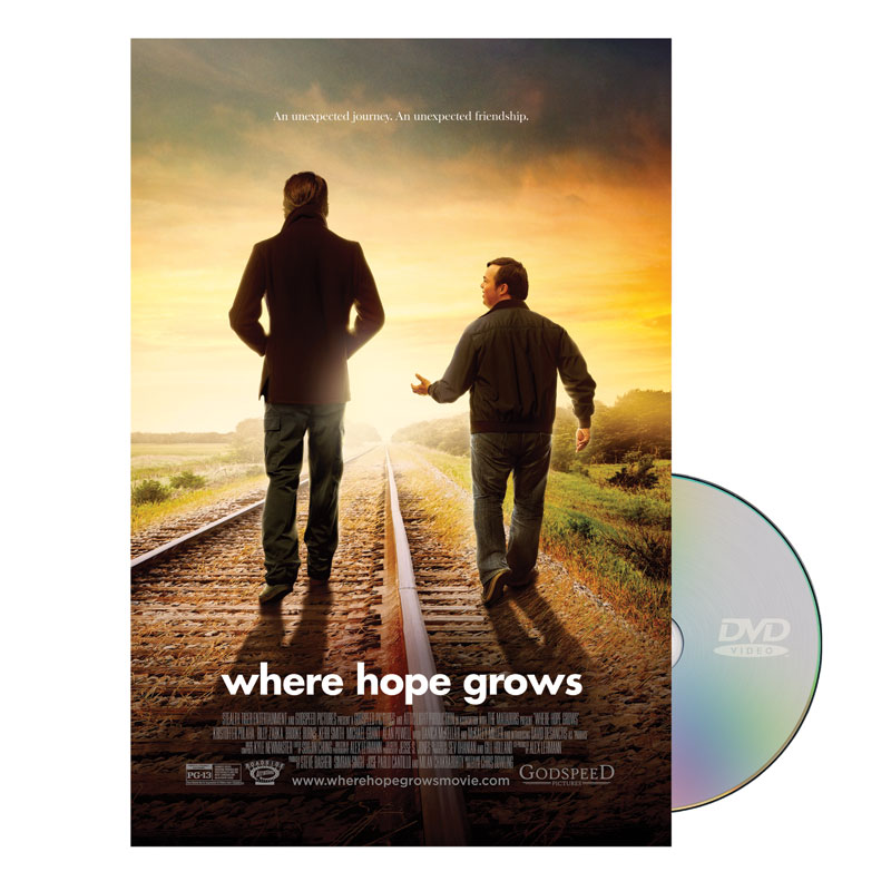 Movie License Packages, Films, Where Hope Grows Movie License Standard , 100 - 1,000 people  (Standard)