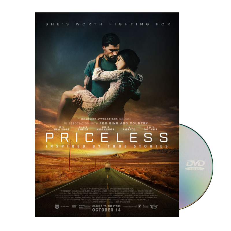Priceless Movie License Large