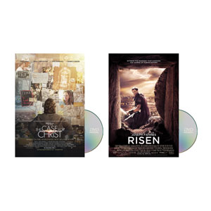 Risen & The Case for Christ Movies Combo Movie License Packages