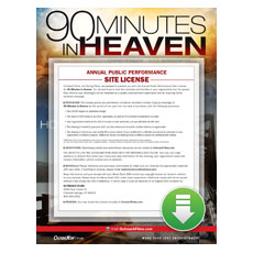 90 Minutes in Heaven Movie License Package