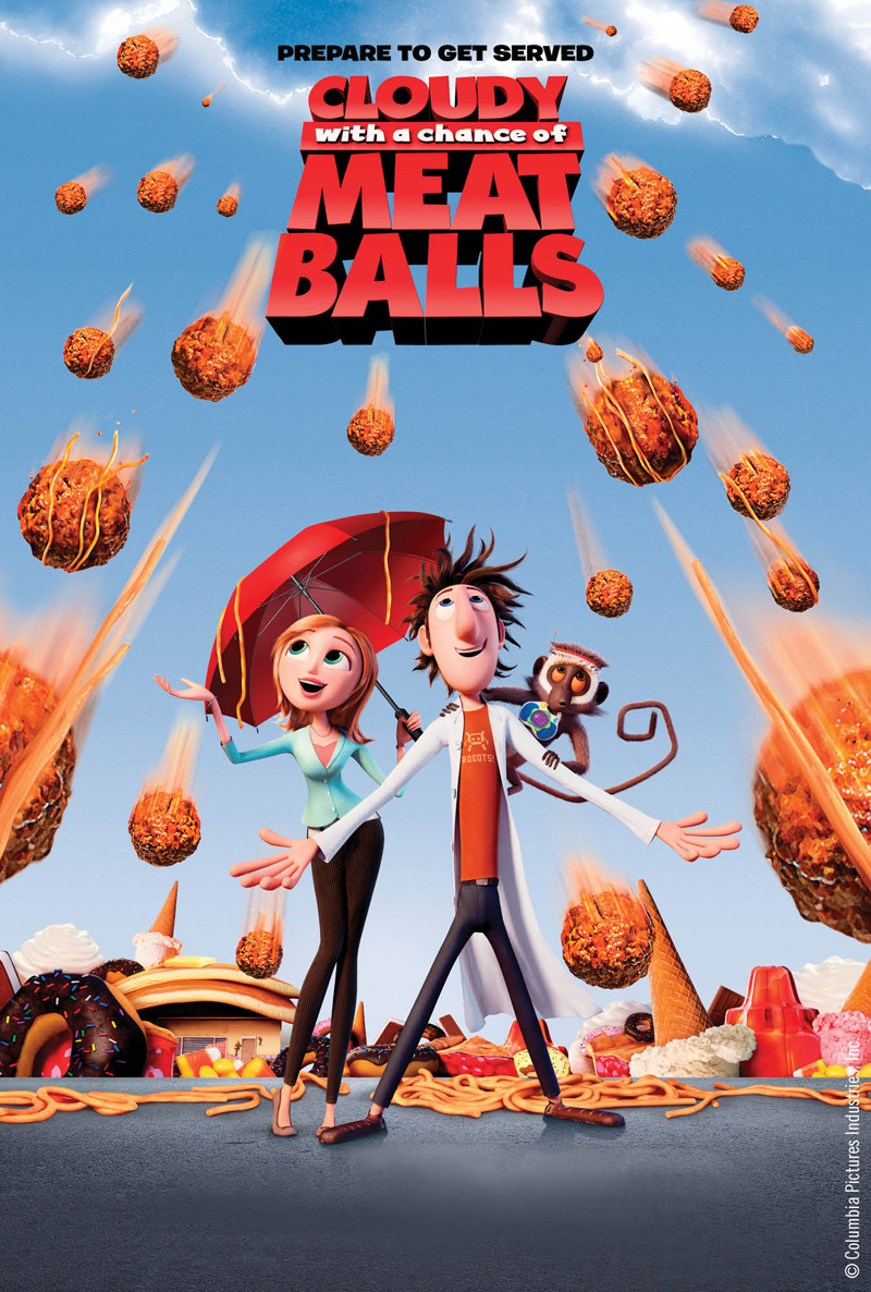 Movie License Packages, Films, Cloudy with a Chance of Meatballs