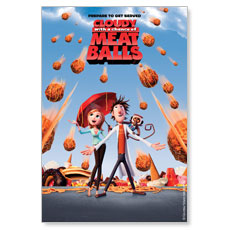 Cloudy with a Chance of Meatballs Movie License Package