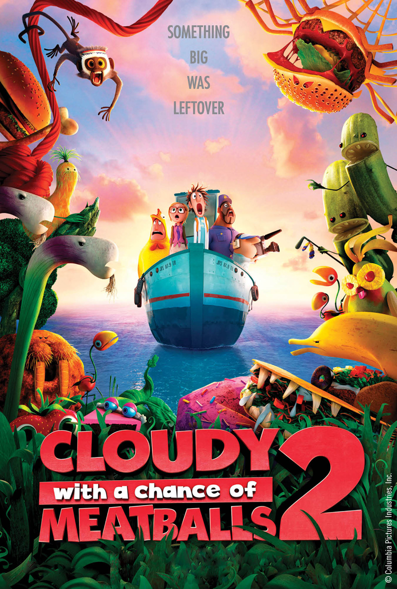 Movie License Packages, Films, Cloudy with a Chance of Meatballs 2