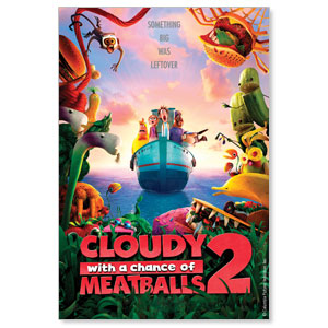 Cloudy with a Chance of Meatballs 2 Blockbuster Movies