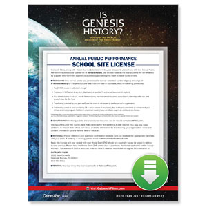 Is Genesis History School License Digital Movie License