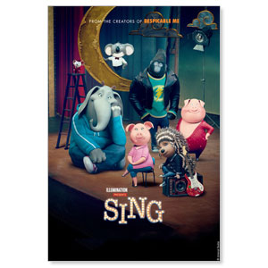 Sing Movie Licenses