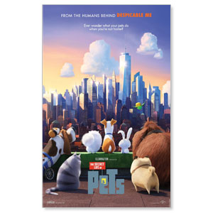The Secret Life of Pets Blockbuster Movies