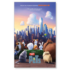 The Secret Life of Pets Movie License Package