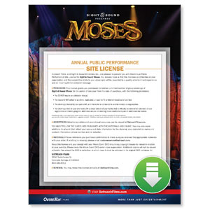 Sight and Sound: MOSES Digital Movie License