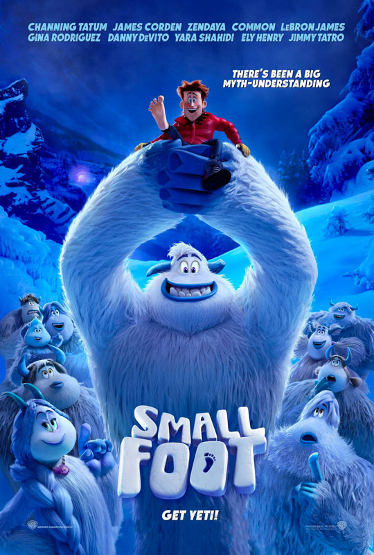 Movie License Packages, Smallfoot