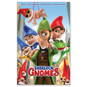 Sherlock Gnomes Blockbuster Movies