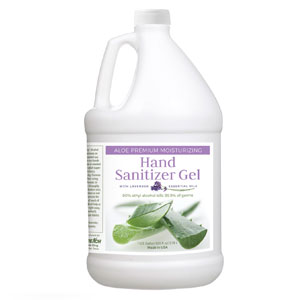 Gel Aloe Hand Sanitizer with Lavender in 1 Gallon Container (Single) SpecialtyItems