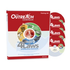 4 Laws of Effective Outreach DVD Training Tool