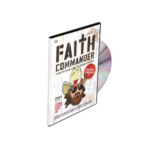 Faith Commander Kids DVD's & CD's