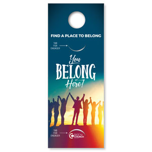 BTCS You Belong Here (stock) Engager Companion DoorHangers