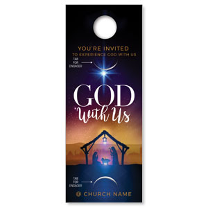 God With Us Advent Engager Companion DoorHangers