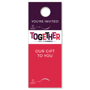 BTCS Together Engager Companion DoorHangers