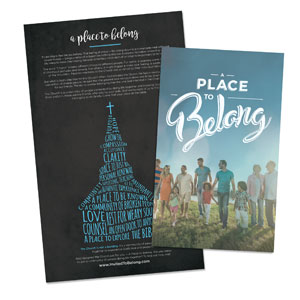 Back to Church Sunday: A Place to Belong  Outreach Engagers