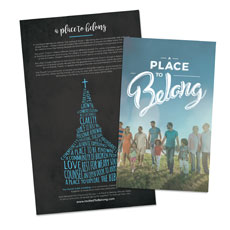 Back to Church Sunday: A Place to Belong Other