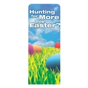 "Easter Hunt 2'7"" x 6'7"" Sleeve Banners"