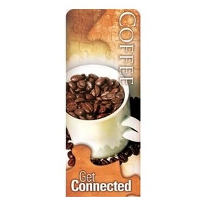 "Get Connected - Coffee 2'7"" x 6'7"" Sleeve Banners"