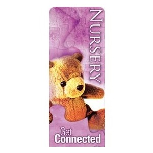 "Get Connected Nursery 2'7"" x 6'7"" Sleeve Banners"