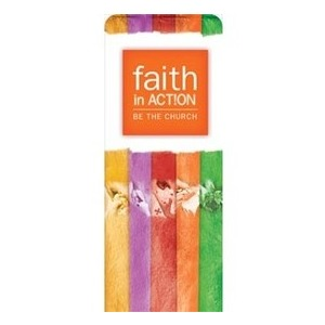 "Faith In Action 2'7"" x 6'7"" Sleeve Banners"