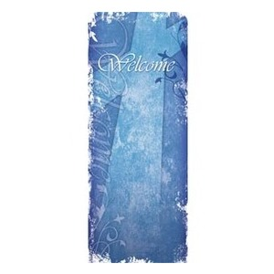 "Vintage Blue 2'7"" x 6'7"" Sleeve Banners"