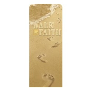 "Footsteps Summer 2'7"" x 6'7"" Sleeve Banners"