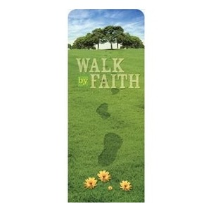 "Footsteps Spring 2'7"" x 6'7"" Sleeve Banners"