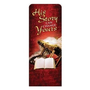 "His Story 2'7"" x 6'7"" Sleeve Banners"