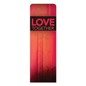 Together Love 2 x 6 Sleeve Banner