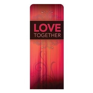 "Together Love 2'7"" x 6'7"" Sleeve Banners"