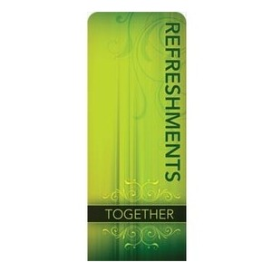 "Together Refreshments 2'7"" x 6'7"" Sleeve Banners"