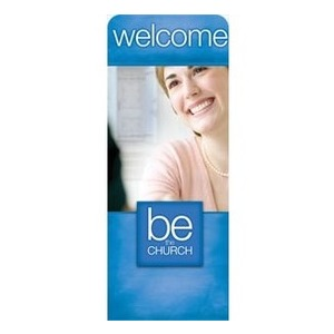 "Be the Church Welcome 2'7"" x 6'7"" Sleeve Banners"