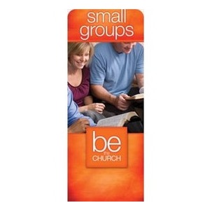 "Be the Church Small Groups 2'7"" x 6'7"" Sleeve Banners"