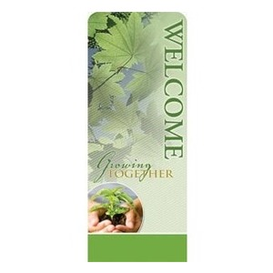 Growing Together Welcome Banners