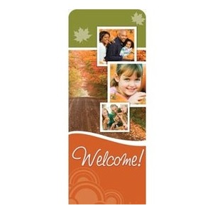 "Fall Path 2'7"" x 6'7"" Sleeve Banners"