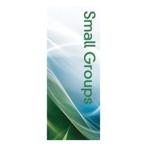 "Swirls Small Group 2'7"" x 6'7"" Sleeve Banners"