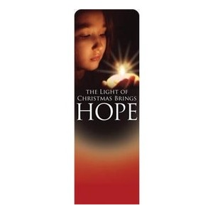 Light Brings Hope 2 x 6 Sleeve Banner
