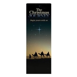 "Christmas Journey 2'7"" x 6'7"" Sleeve Banners"