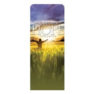 "Easter Hope Field 2'7"" x 6'7"" Sleeve Banners"