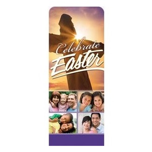 "Easter Celebrate 2'7"" x 6'7"" Sleeve Banners"