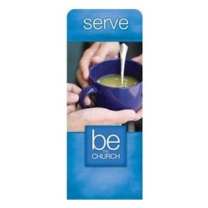 "Be The Church Serve 2'7"" x 6'7"" Sleeve Banners"
