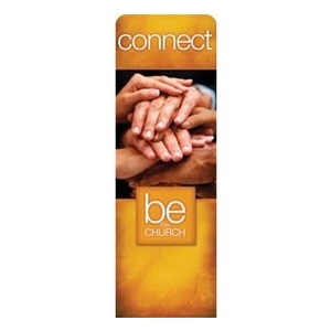Be the Church Connect 2 x 6 Sleeve Banner