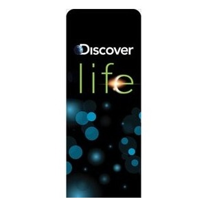"Discover Life 2'7"" x 6'7"" Sleeve Banners"